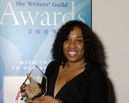 Juliet Gilkes Romero at the Writers' Guild Awards
